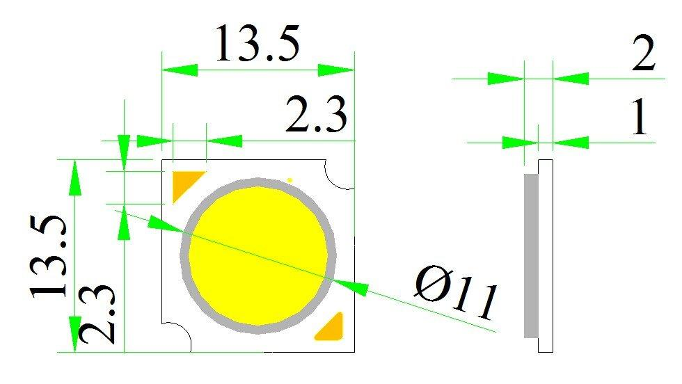 LED   COB  for spot light     (Ra>97  full-spectrum BH1311)