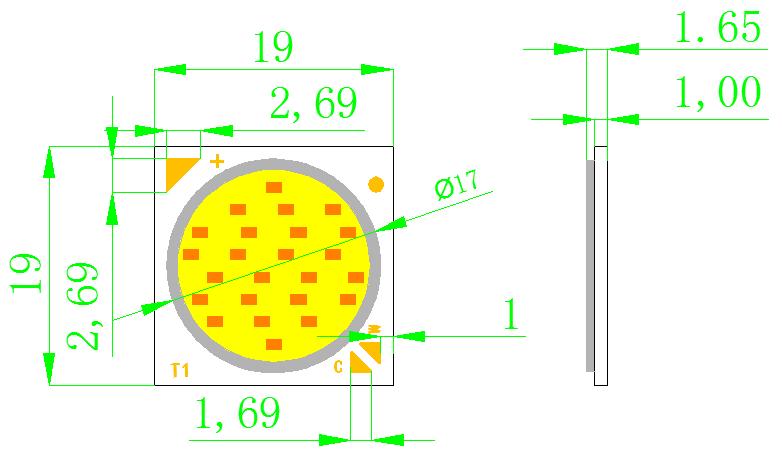 Color Changing COB (BK1917)